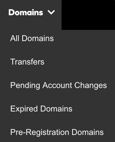 Pending account changes