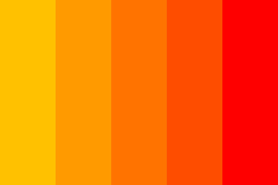 Orange Color psychology website
