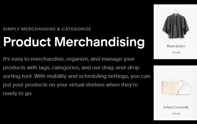 comercialización de productos