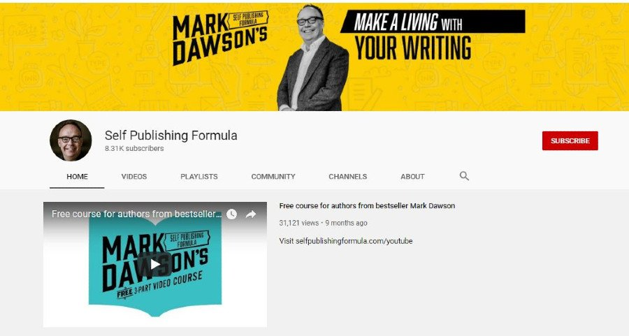 self publishing formula on youtube