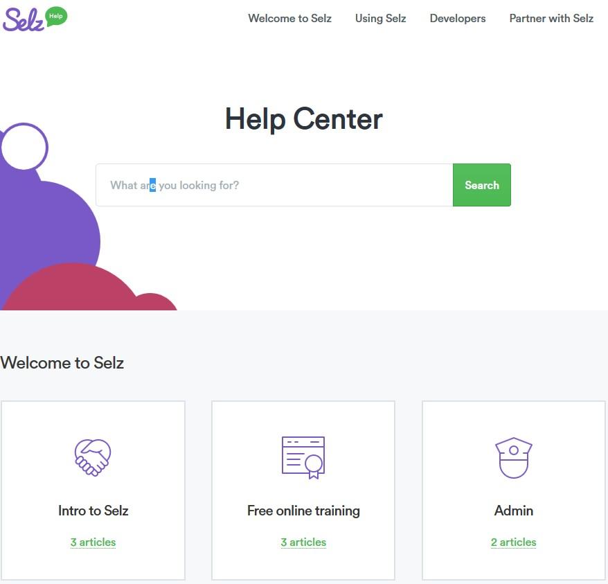selz help center