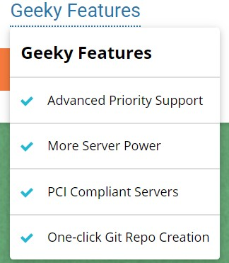 siteground features geeky