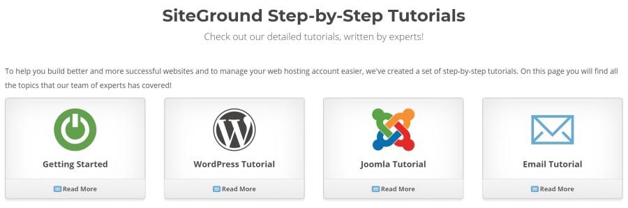 tutoriales de sitio