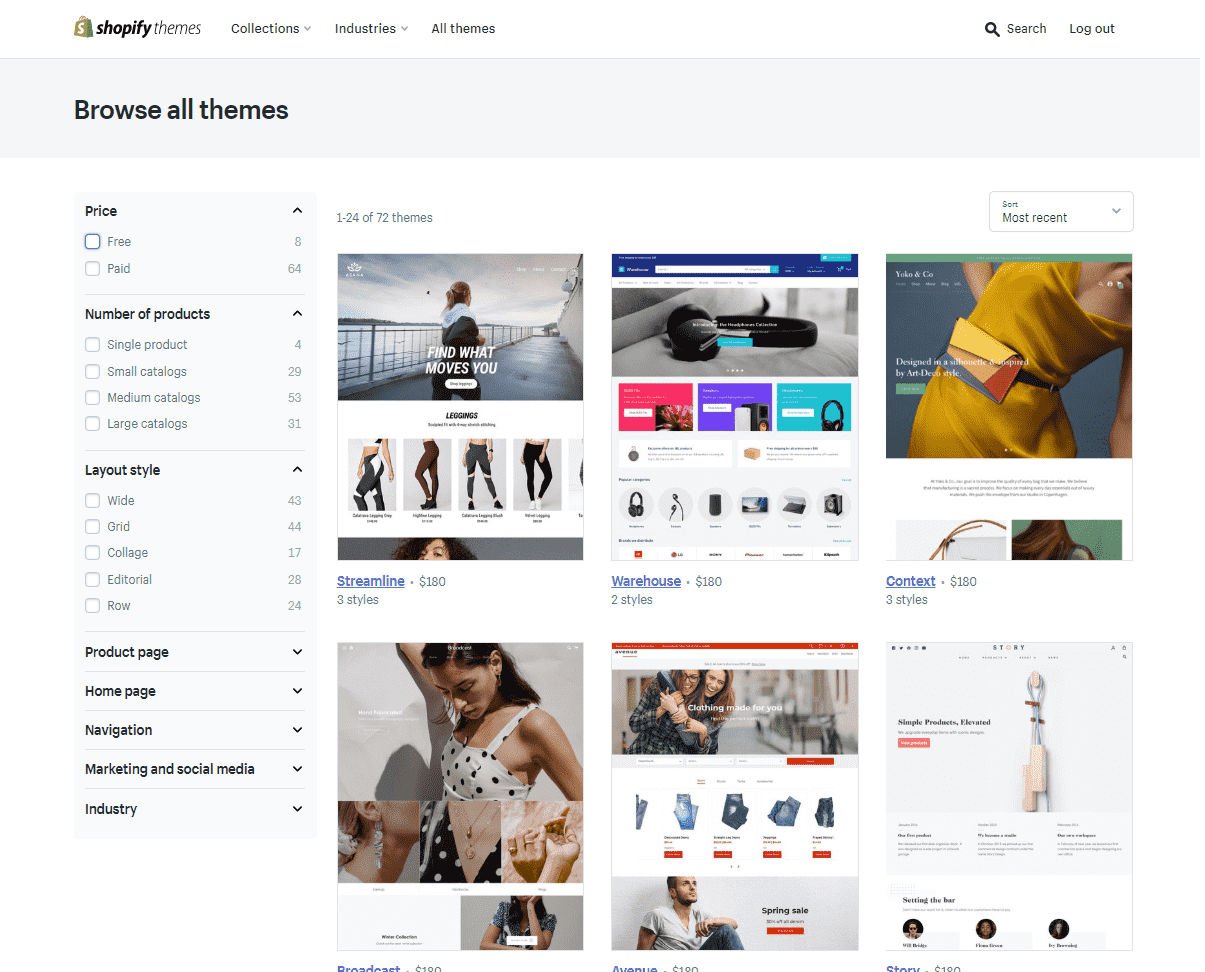 shopify features templates1