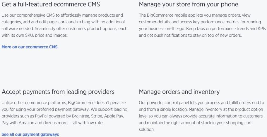 site and store management
