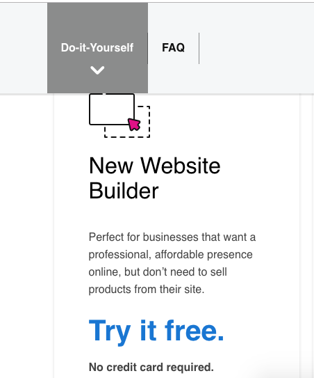try free godaddy webstie builder