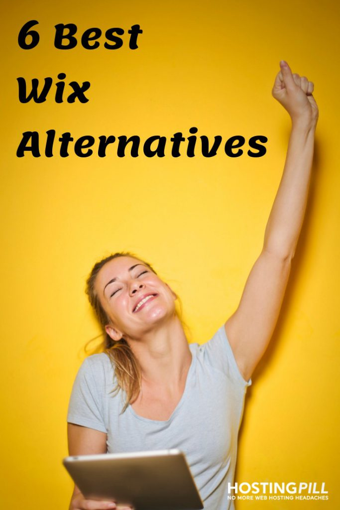 wix alternatives infographic