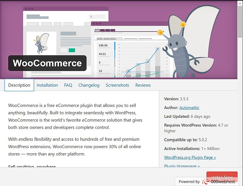 Woocommerce Description