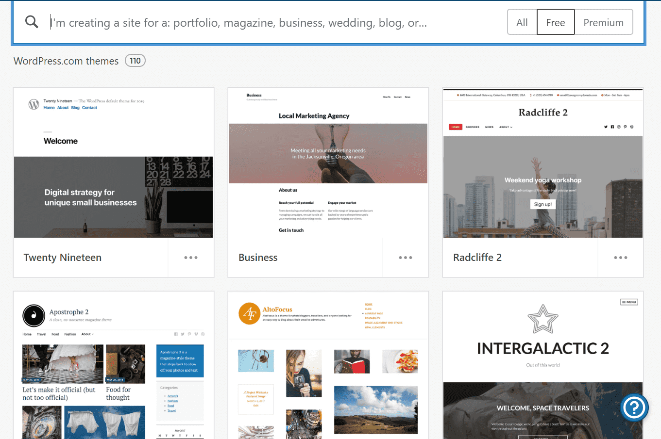 wp.com features themes
