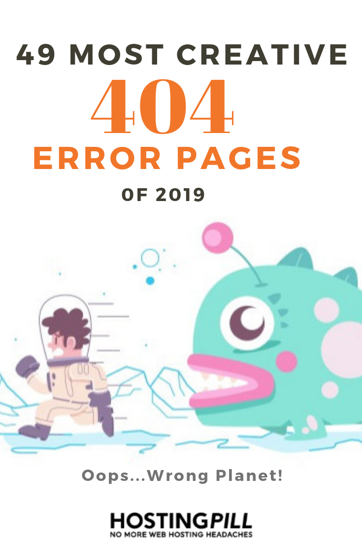 404 error pages design 2019