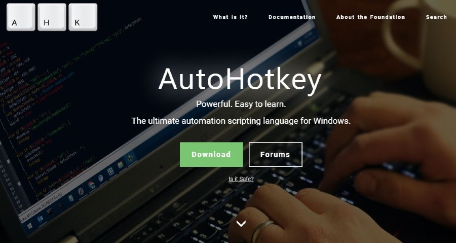 Autohotkey tools to automate website