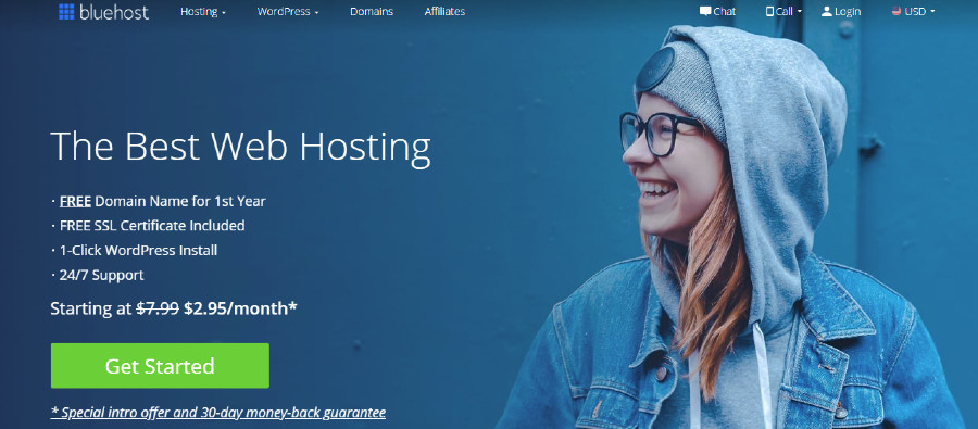 Bluehost Banner