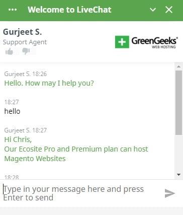 GreenGeeks Charla