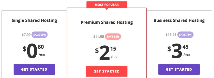 Hostinger Joomla Hosting Plans