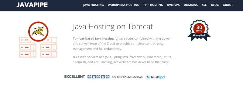 Javapipe java hosting