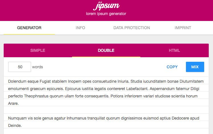 Jipsum or tested