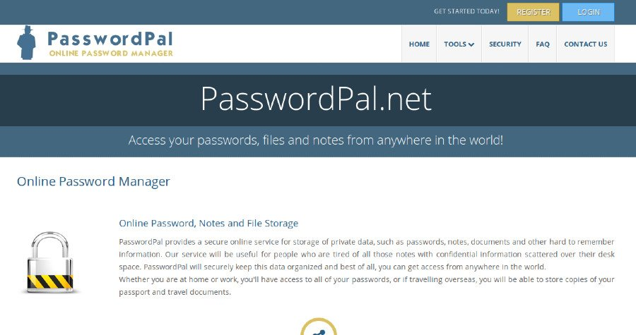 PasswordPal net