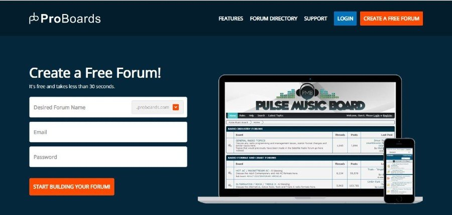 Forum Software for creating Online Community