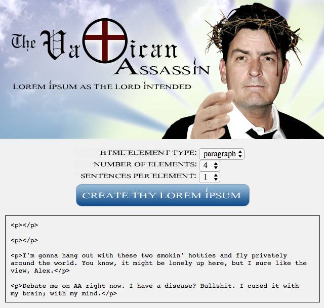 Vatican Assassin or tested