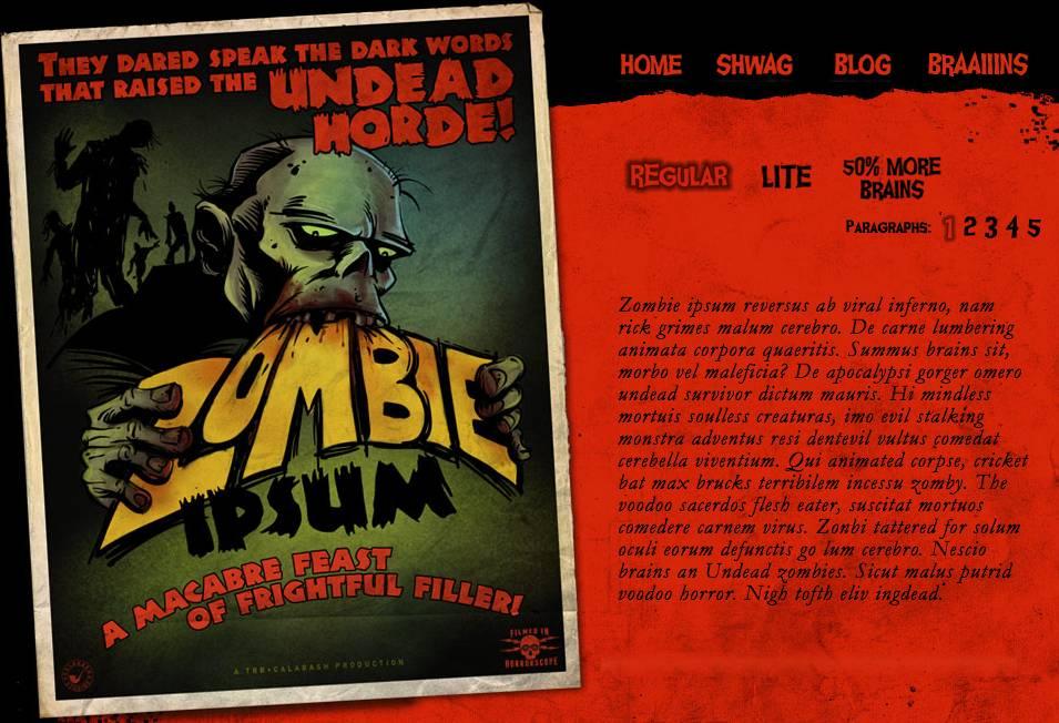 Zombie Ipsum or tested
