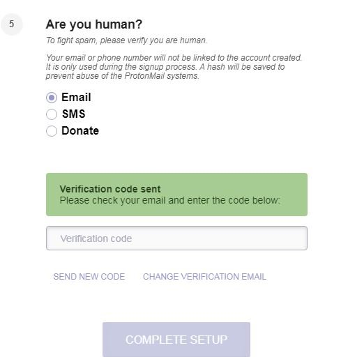protonmail are_you_human