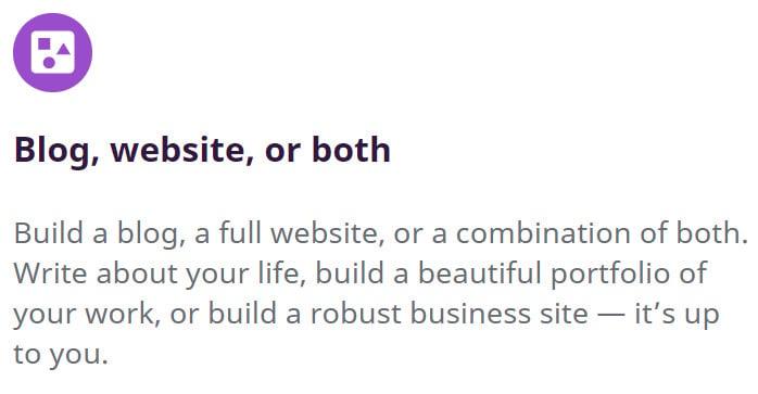sitio web del blog