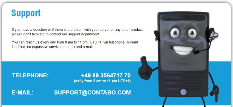 contabo support
