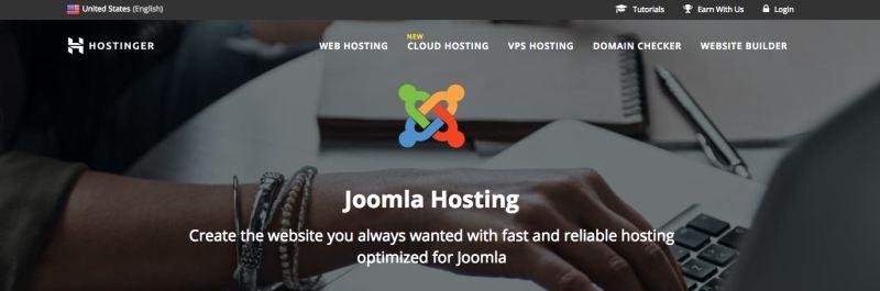 hostinger hosting joomla