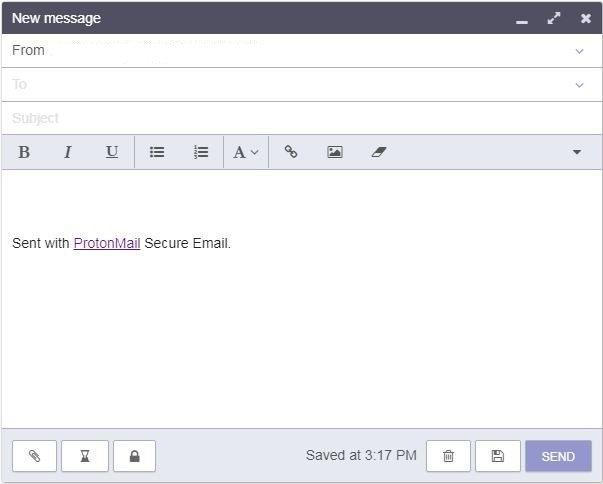 ProtonMail new_message