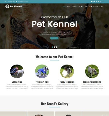 pet kennel
