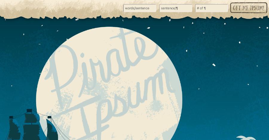 pirateipsum