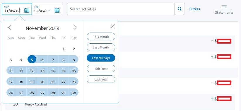venmo vs paypal date