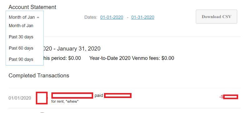 venmo vs paypal statement
