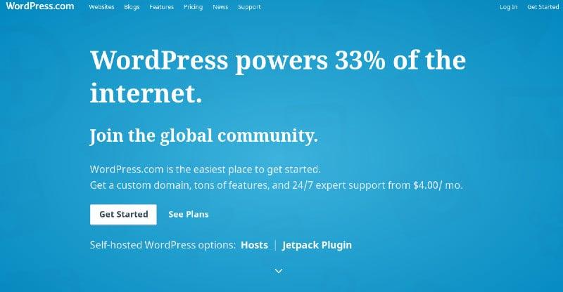 wordpress com banner