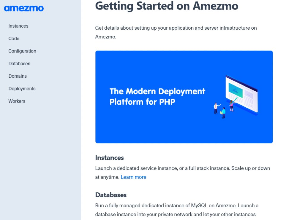 Getting Started on Amezmo _ Amezmo