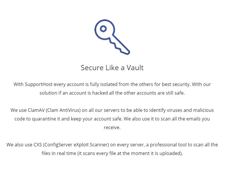 secure like vault