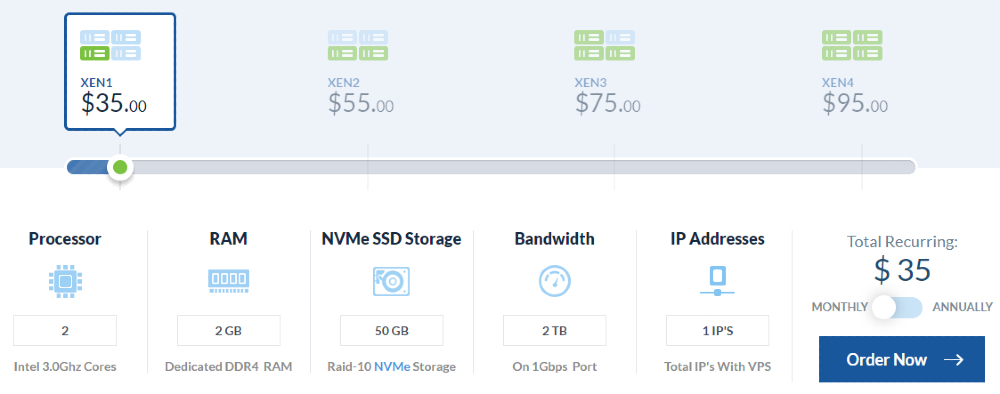 Managed Linux NVMe SSD VPS