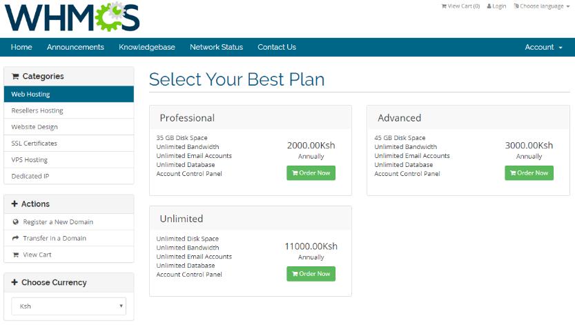 Shopping Cart - Softnet Solutions Ltd