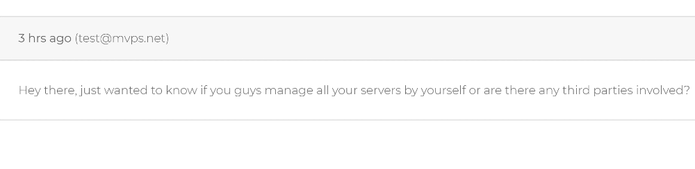 Your trusted high quality VPS provider