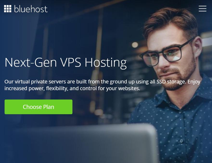 best VPS-bluehost