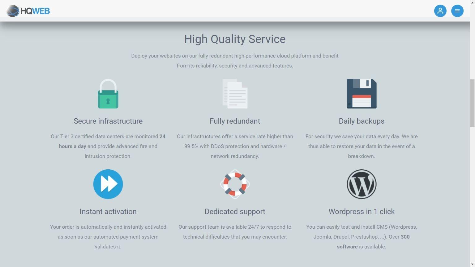 Hqweb services