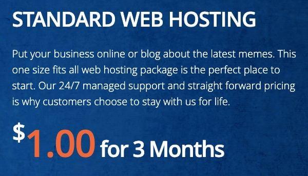 interserver webhosting boṣewa