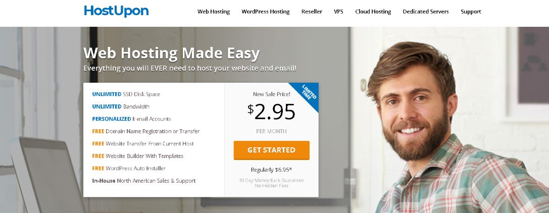 Best Website Hosting and WordPress Hosting Plans - HostUpon