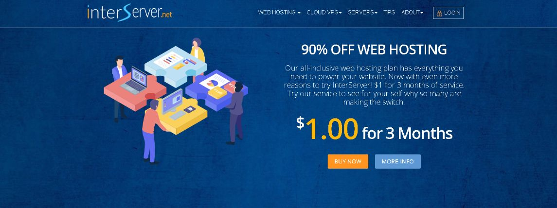 InterServer - Affordable Unlimited Web Hosting, Cloud VPS and Dedicated Servers