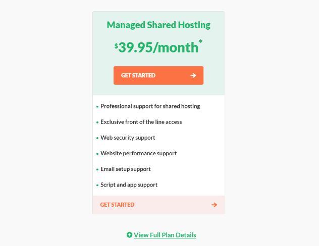hostpapa managed shared hosting