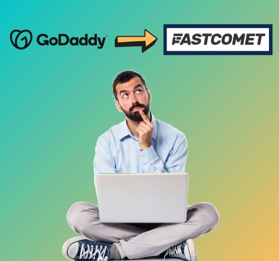 transfer domain from godaddy to fastcomet