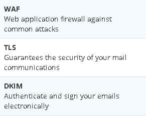 Dinahosting firewalls