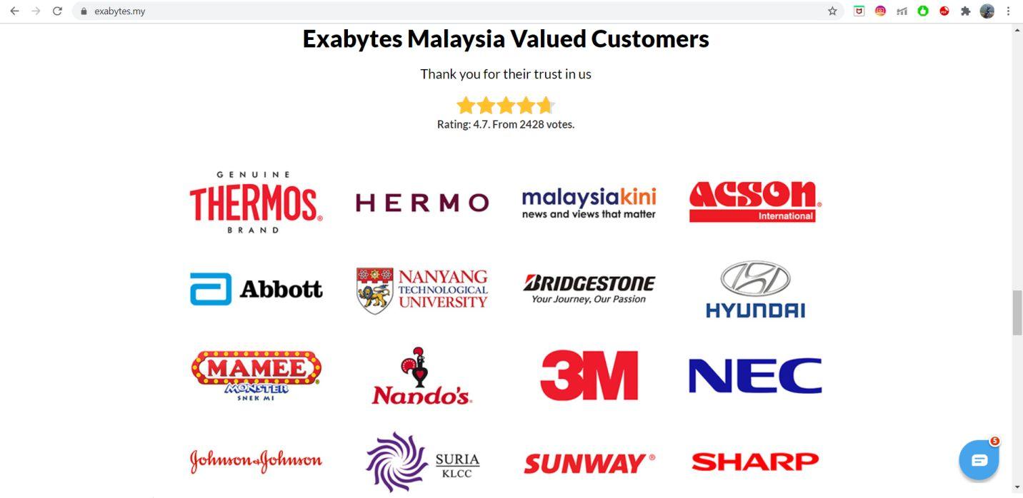 Exabytes Web Hosting ease of use