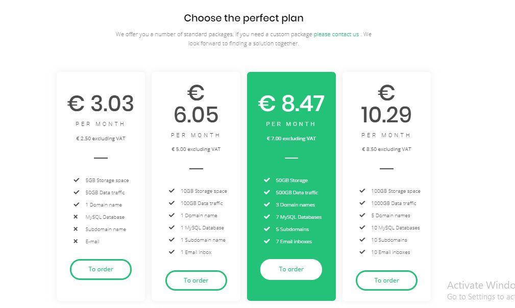 Proxeuse pricing