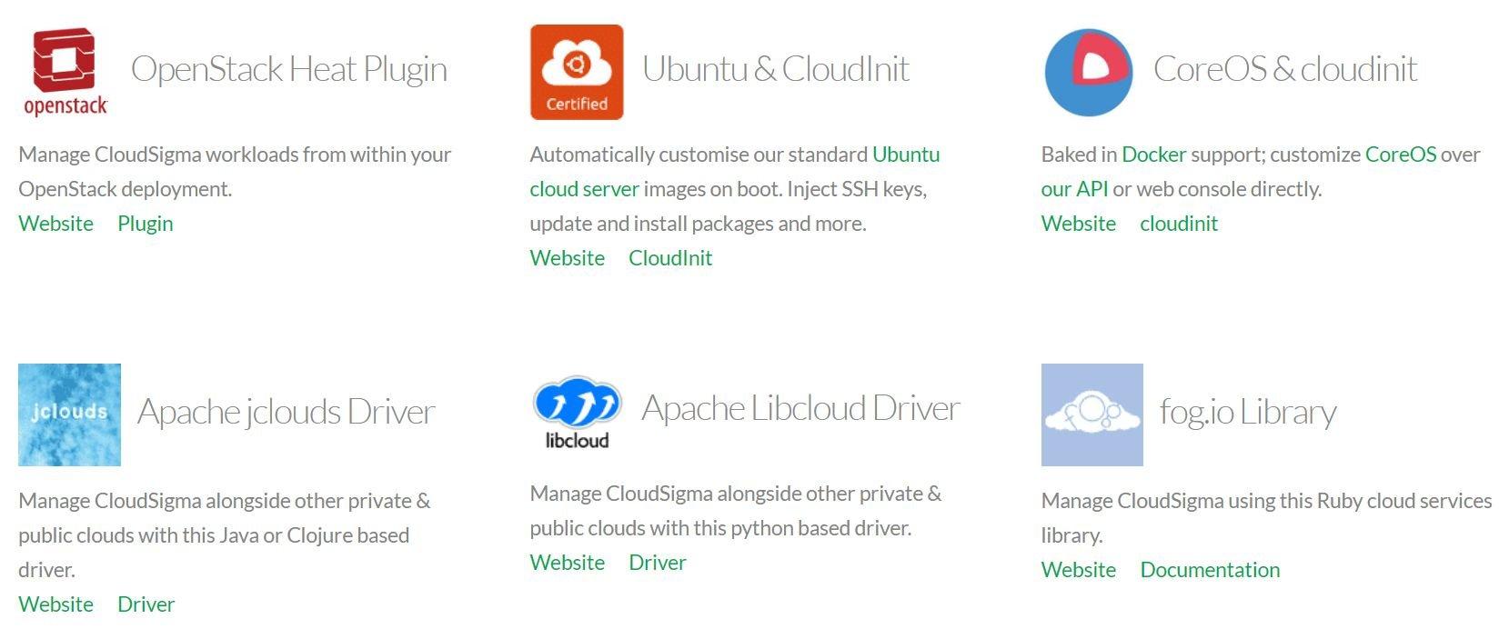 cloudsigma-cloud integrations